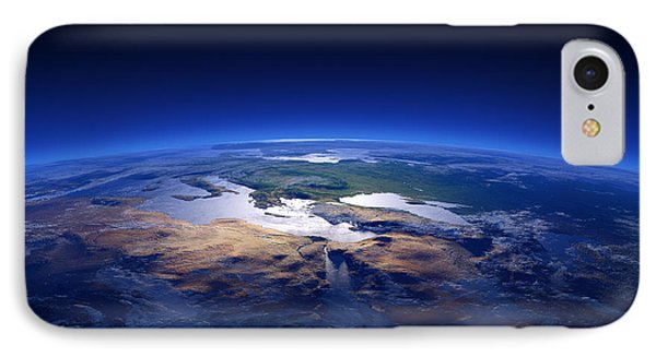 Earth - Mediterranean Countries Phone Case by Johan Swanepoel