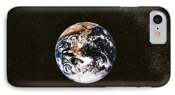 Earth Seen From Apollo 17 Africa And Antarctica Visible Phone Case by Anonymous