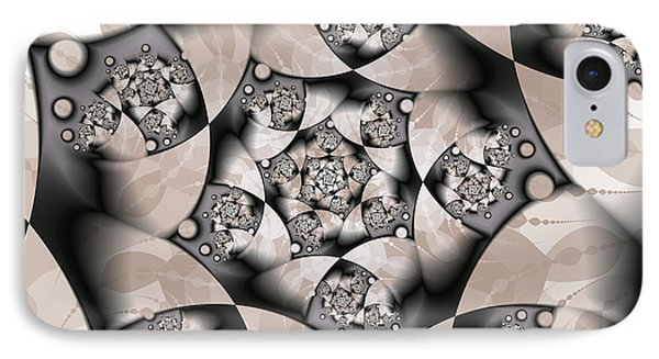 IPhone Case featuring the digital art Earth Tones by Gabiw Art