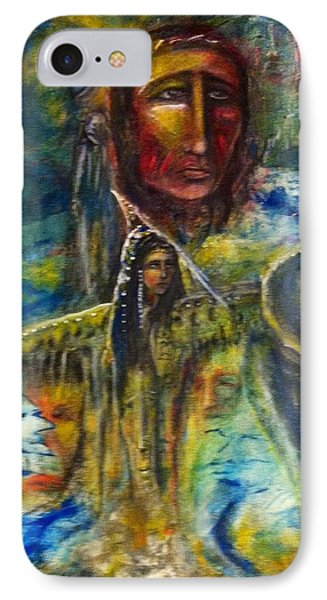 Earth Woman 2 IPhone Case