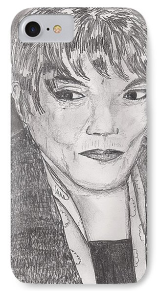 Eartha Kitt IPhone Case by David Jackson