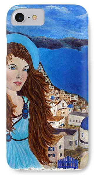 Earthangel Athena Phone Case by The Art With A Heart By Charlotte Phillips