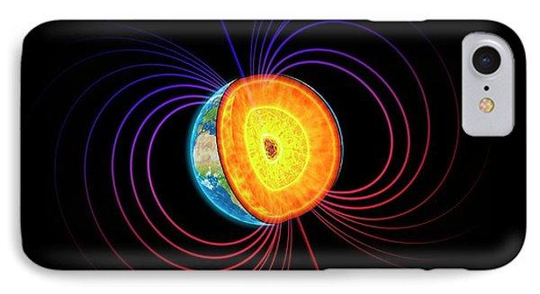 Earth's Core IPhone Case by Andrzej Wojcicki