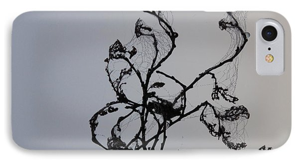 Earth's Sweat On Spiderweb IPhone Case