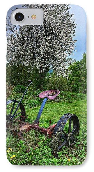 East Albany Mower IPhone Case by John Nielsen