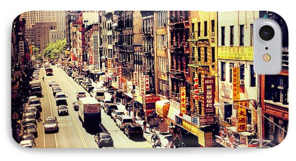 East Broadway - Chinatown - New York City IPhone Case