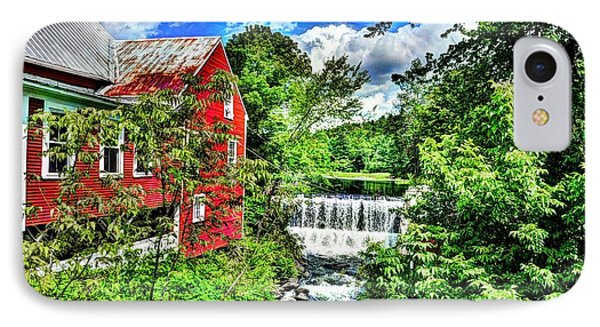 East Calais Water Powered Mill IPhone Case by John Nielsen