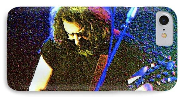 Grateful Dead - East Coast Tour - Jerry Garcia IPhone Case by Susan Carella