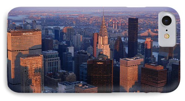 East Coast Wonder Aerial View Phone Case by Emmy Marie Vickers