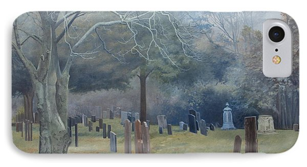 East End Cemetery Amagansett IPhone Case by Barbara Barber