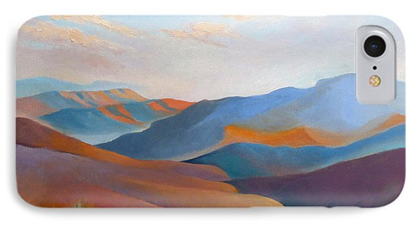 East Fall Blue Ridge No.3 IPhone Case by Catherine Twomey