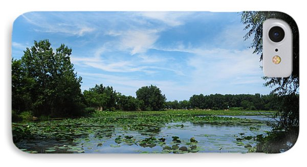 East Harbor State Park - Scenic Overlook IPhone Case by Shawna Rowe