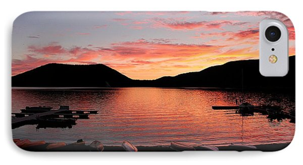 East Lake Sunset IPhone Case by Erica Hanel