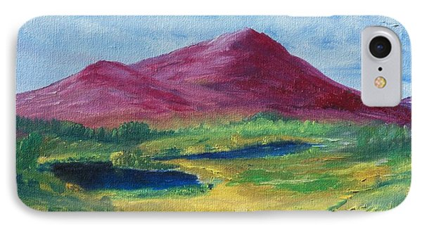 IPhone Case featuring the painting East Of Schull by Conor Murphy