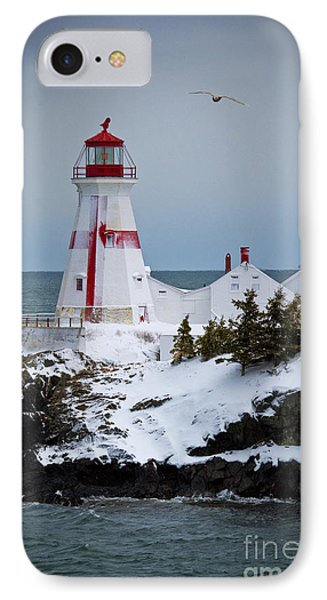 East Quoddy Head Lighthouse Phone Case by Alana Ranney