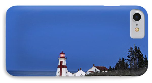 East Quoddy Lighthouse - D002160 Phone Case by Daniel Dempster