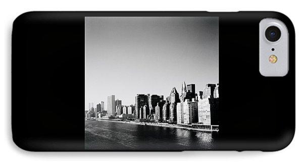 East River New York Phone Case by Shaun Higson