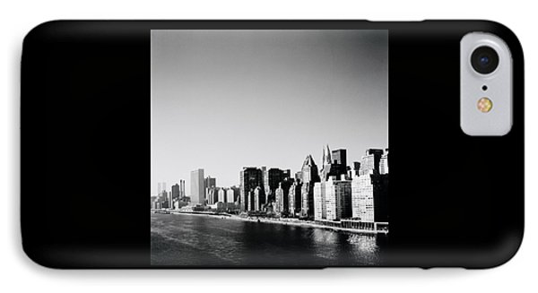 East River New York IPhone Case by Shaun Higson
