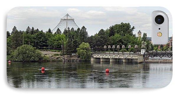 East Riverfront Park And Dam - Spokane Washington Phone Case by Daniel Hagerman