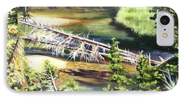 East Rosebud Inlet Stream IPhone Case by Patti Gordon