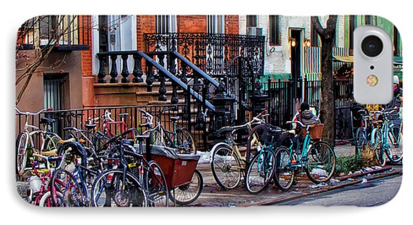 East Village Bicycles IPhone Case
