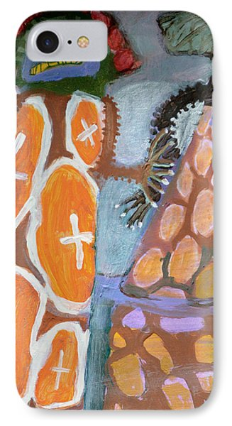 Eastanomically Nutty Phone Case by Nancy Mauerman
