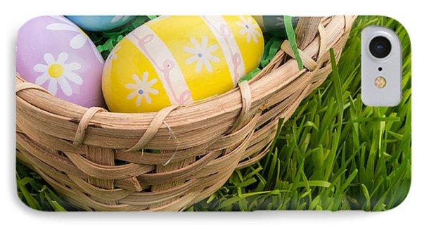 Easter Basket Phone Case by Edward Fielding