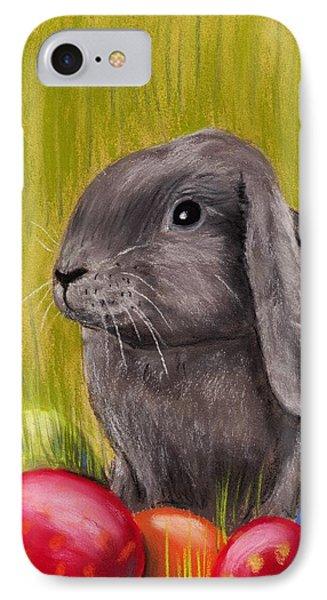 Easter Bunny Phone Case by Anastasiya Malakhova