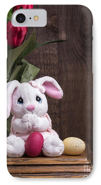 Easter Bunny IPhone Case by Edward Fielding
