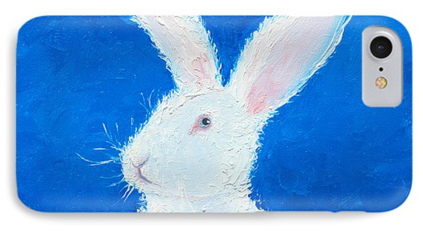 Easter Bunny IPhone Case by Jan Matson