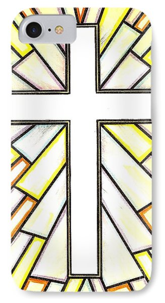 Easter Cross 3 Phone Case by Jim Harris