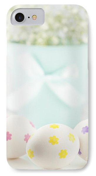 Easter Eggs IPhone Case by Juli Scalzi