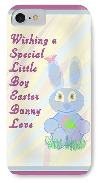 Easter For Small Boy Phone Case by Rosalie Scanlon