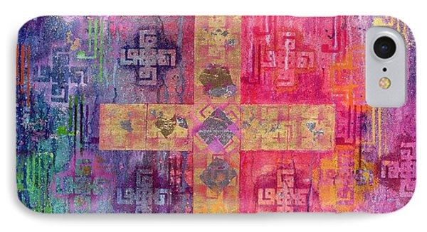 Eastern Cross IPhone Case by Laila Shawa