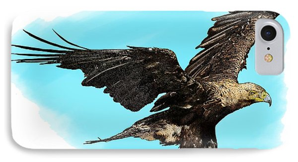 Eastern Imperial Eagle IPhone Case