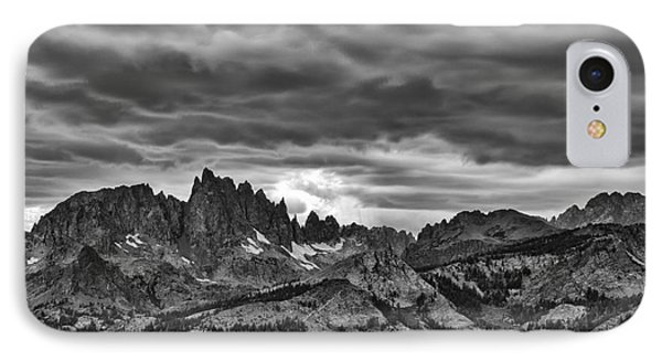 Eastern Sierras Summer Storm IPhone Case by Terry Garvin