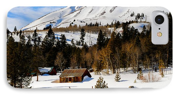 Eastern Slope Cabin IPhone Case by Donald Fink