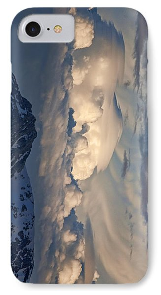 IPhone Case featuring the photograph Eastern Storm At Sunset - Phone Case by Gregory Scott