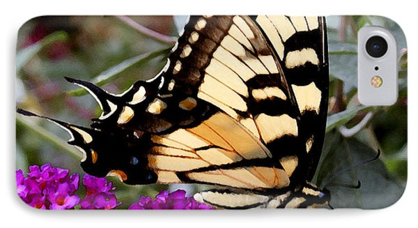 IPhone Case featuring the photograph Eastern Tiger Butterfly by James C Thomas