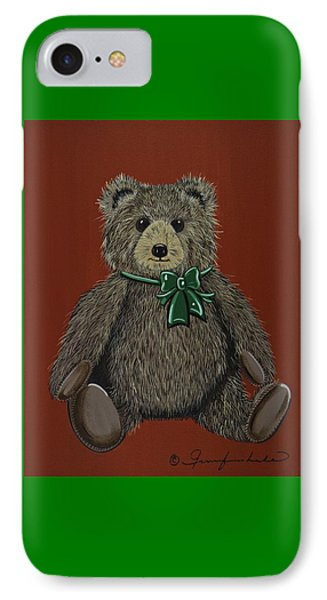 IPhone Case featuring the painting Easton's Teddy by Jennifer Lake
