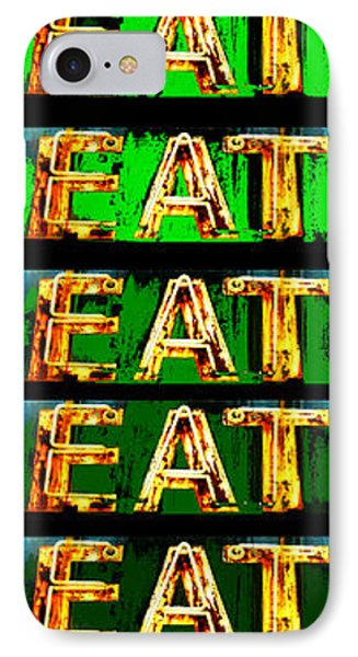 Eat Up IPhone Case by Jame Hayes