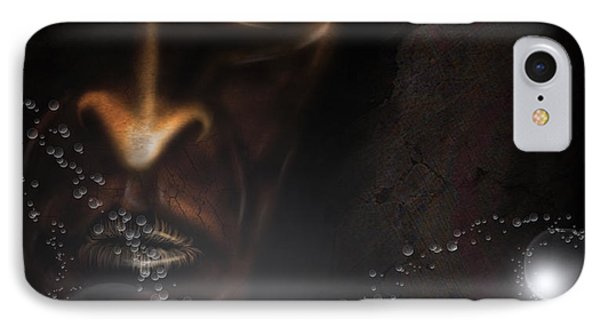 IPhone Case featuring the digital art Eater Of Dreams by Jeremy Martinson