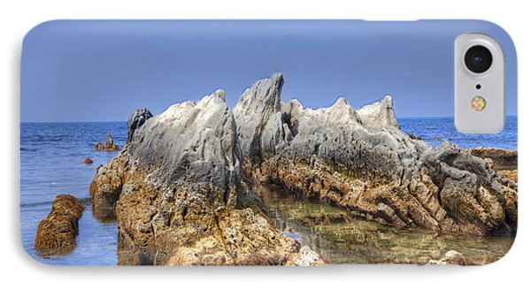 IPhone Case featuring the photograph Ebb Tide-2 by Tad Kanazaki