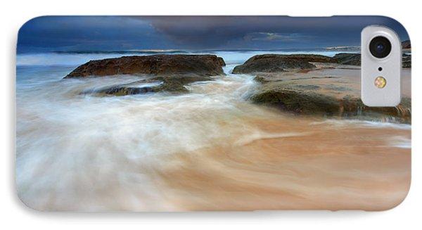 Ebb Tide Sunrise IPhone Case by Mike  Dawson