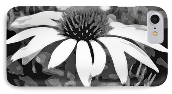 IPhone Case featuring the photograph Echinacea - Digital Art by Ellen Tully