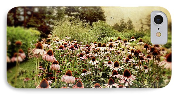 Echinacea Garden IPhone Case by Jessica Jenney