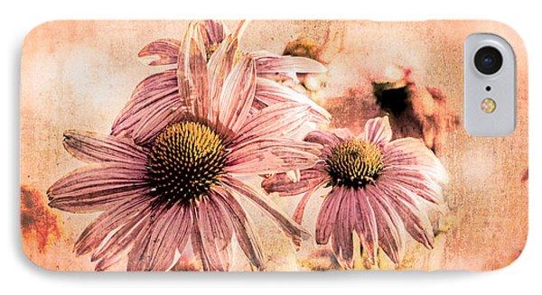 Echinacea Impressions  IPhone Case by Bob Orsillo