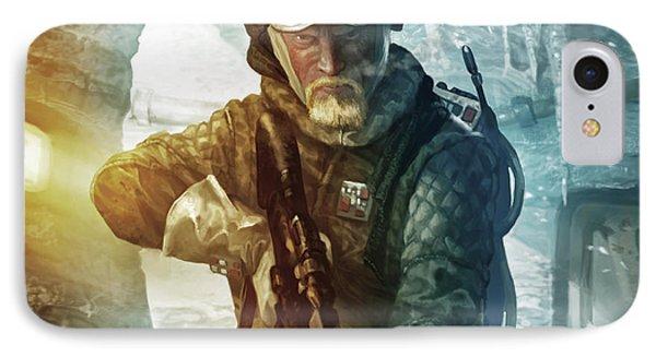 Echo Base Trooper Phone Case by Ryan Barger