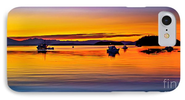 Echo Bay Sunset Phone Case by Robert Bales