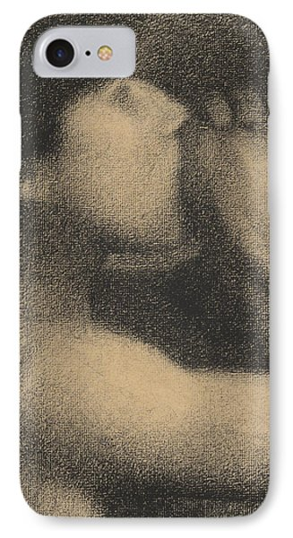 Echo IPhone Case by Georges Pierre Seurat